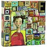 Kelly Rae Roberts No Regrets Patchwork Boxy Wall Art