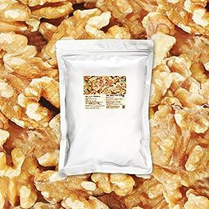 黄金生くるみ 1kg 2月産地直輸入 アメリカ産 生 無塩 無添加 チャック付袋