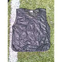 Buy 6 Youth Practice Jerseys, Pinnies, Bibs 100% Polyester for Ages 5-9 and 10-15 by Spruce Athletic