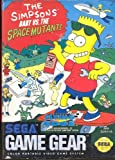 The Simpsons Bart VS The space mutants - Game Gear - US