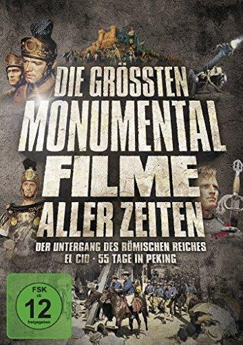Die größten Monumentalfilme aller Zeiten [3 DVDs]