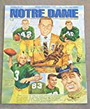 NOTRE DAME MICHIGAN STATE COLLEGE FOOTBALL PROGRAM - 1993 - MINT
