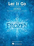Let It Go - Idina Menzel Version From the Disney Movie Frozen - Sheet Music Single