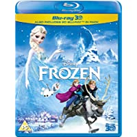 アナと雪の女王 イギリス盤 / Frozen [Blu-ray 3D + Blu-ray] [Region Free][Import]
