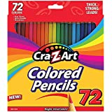 Cra-Z-Art Colored Pencils Pack Of 72 - Real Wood Artist Quality Sharpened
