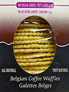 La Nouba Belgian Coffee Waffles, 3.3g, NSA from Yulo Toys Inc