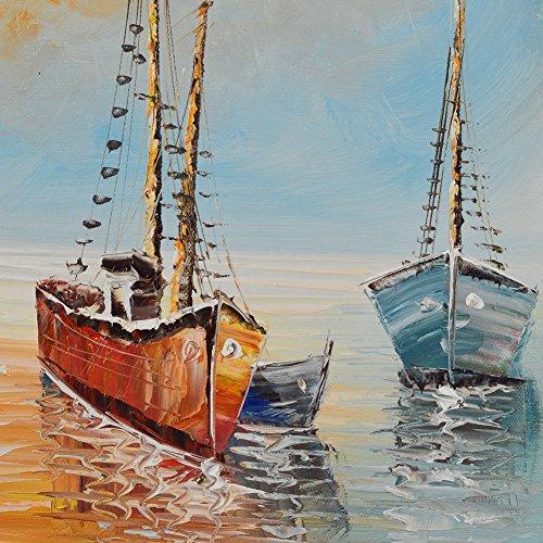 Raybre art peinture l 39 huile peinte la main sur les for Peinture interieur bateau