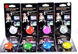 ZM LED Clip-on Safety Light Colorful Collar Light Key chain Light -Collar Light for Outdoor Safety, Pack of 6, Assorted Colors