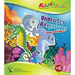American Educational Products A-5004  Under Sea Adventures Booklet for Kiddo