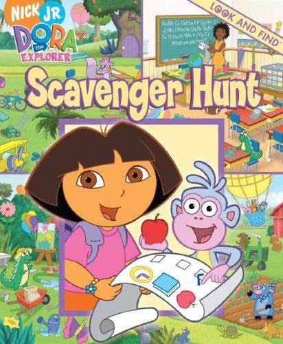 Dora the Explorer Look & Find - Scavenger Hunt