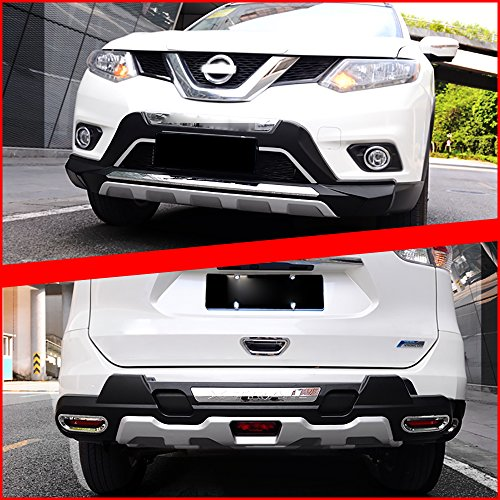[Kust qhg4287w Car Bumper Guard Cover (Pack of 2 Selected Alloy Bumper Cover Protector Fit for Installed] (Diy Rogue Costume)