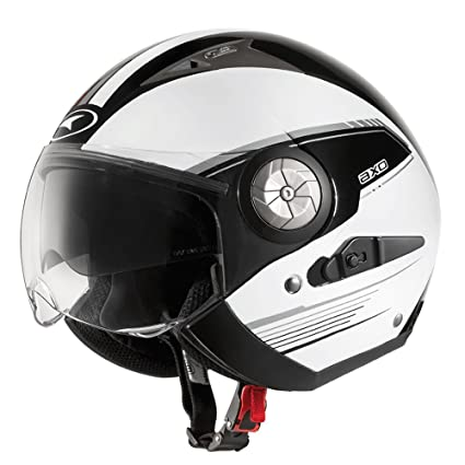 AXO mS1P0023 wK casque lord, taille xL (noir/blanc)