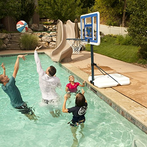 Lifetime 1306 pool side basketball system competitive edge products - Pool basketball ...