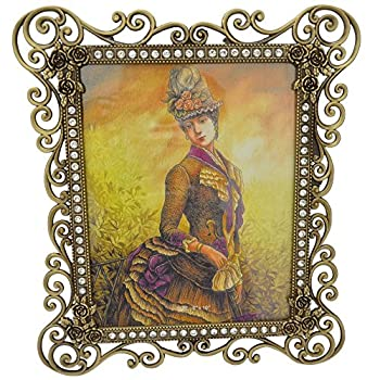 Gift Garden 8 by10-inch Vintage Picture Frame for 8x10 Photo