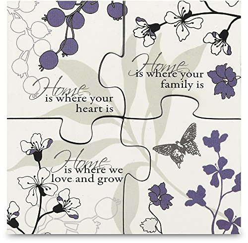 Mark My Words Magnetic Puzzle with Home Saying, 3-1/2 by 3-1/2-Inch - 1