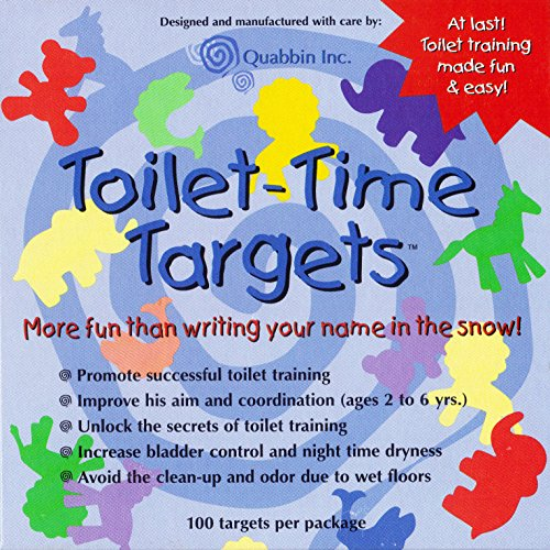 Potty Training Toilet Urinal Time Tinkle Targets for Boys and Girls, Animal Shaped