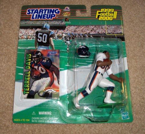 1999 Terrell Davis NFL Starting Lineup - 1