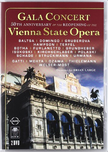 Gala Concert in celebration of the 50th anniversary of the reopening of the Vienna State Opera after the Second World War [2 DVDs]