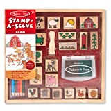 Stamp-A-Scene Farm Set - Melissa & Doug