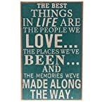 Best Things In Life Wall Plaque