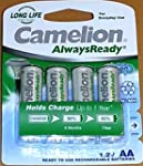 AA Solar Light Rechargeable Batteries...