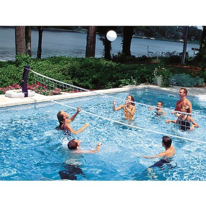 Swimways d h 2 in 1 pool basket volleyball 00381 - Pool volleyball ...