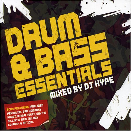 DJ Hype Presents: Drum & Bass Essentials various artists DnB Audio CD