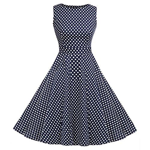 ACEVOG Classy Vintage Hepburn Style 1950