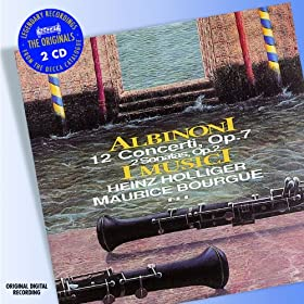 Albinoni: Concerto a 5 in C, Op.7, No.5 for 2 Oboes, Strings and Continuo - 2. Adagio