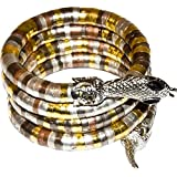 Egyptian Cobra Coil Bracelet
