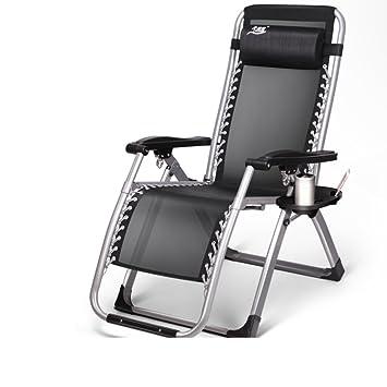 chaises/lit d'appoint de bureau/single lunch bed/chaise de l'après-midi/chaise de sieste pour adultes/simple lit pliant portatif-C