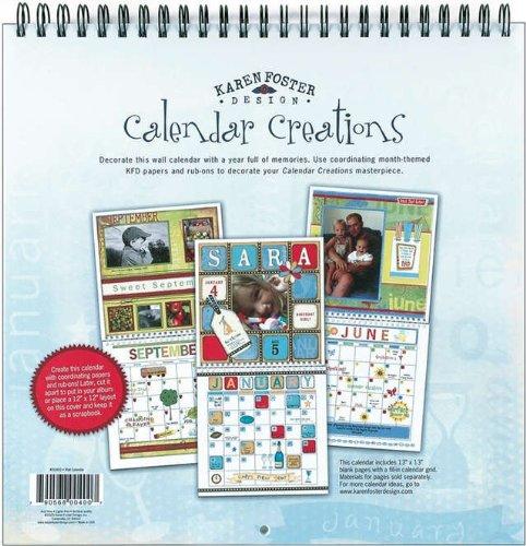karen-foster-design-scrapbook-blank-wall-calendar