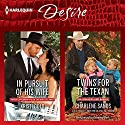 In Pursuit of His Wife & Twins for the Texan Audiobook by Kristi Gold, Charlene Sands Narrated by Callie Dalton, Jeremy York