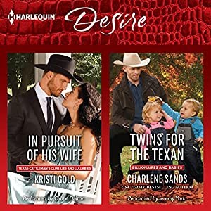 In Pursuit of His Wife & Twins for the Texan Audiobook