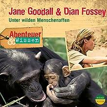 Jane Goodall & Dian Fossey - Unter wilden Menschenaffen (Abenteuer & Wissen) Hörbuch von Maja Nielsen Gesprochen von: Martin Bross
