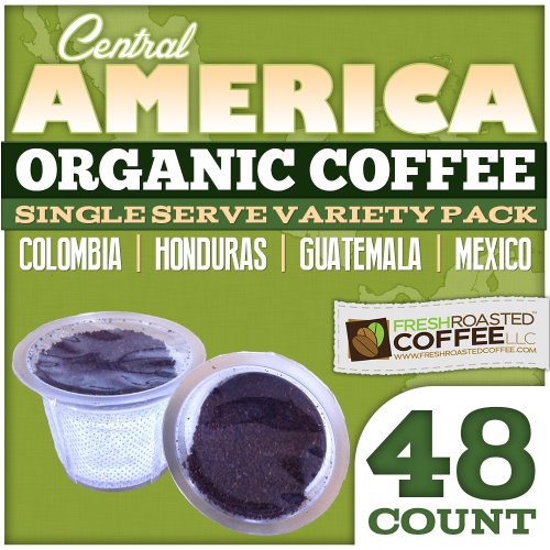 Coffee Capsules Variety Pack, 48 Ct. Frc Cup For Keurig K-Cup Brewers, Fresh Roasted Coffee Llc. (Central American)