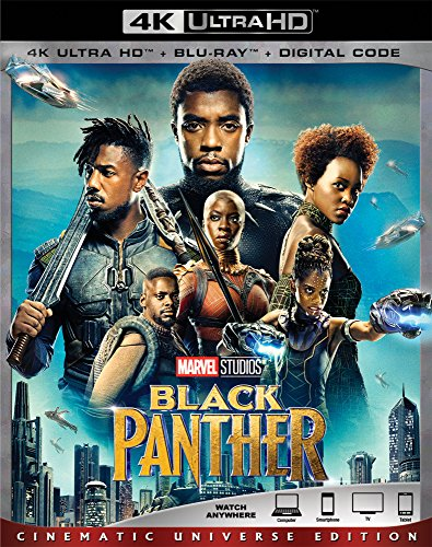4K Blu-ray : Black Panther (With Blu-Ray, 4K Mastering, AC-3, Dubbed, Subtitled)