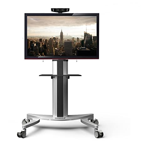 """Fleximounts P2 Mobile TV Floor Cart Stand fits for 32""""-70"""" LCD LED Plasma Flat Panels Stand with Wheels"""
