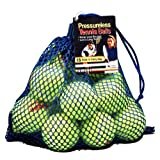 Tourna 18-Pack Mesh Bag of Pressureless Tennis Balls ~ Unique