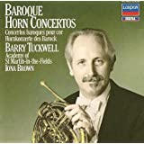 Baroque Horn Concertos ~ Iona Brown