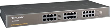 TP-Link Commutateur 24 ports Gigabit Rack Mount de Unmanaged [TL-sg1024]