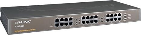 TP-Link Commutateur 24ports Gigabit Rack Mount de Unmanaged [TL-sg1024]