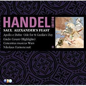 "Alexander's Feast HWV75 : Part 1 ""War, he sung, is toil and trouble"" [Tenor]"