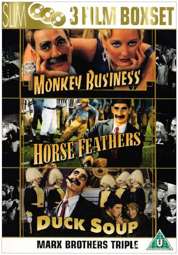 Marx Brothers Collection - Monkey Business/Horse Feathers/Duck Soup [DVD]