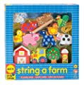 Alex Toys Wooden Stringing Sets - String A Farm from Alex