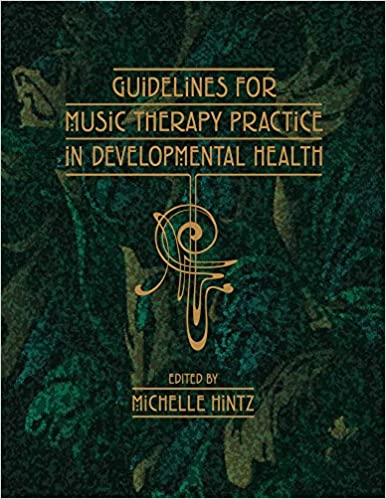 Book cover: guidelines for music therapy practice in developmental health