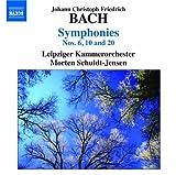J.C.F.バッハ:交響曲 第6番、第10番、第20番