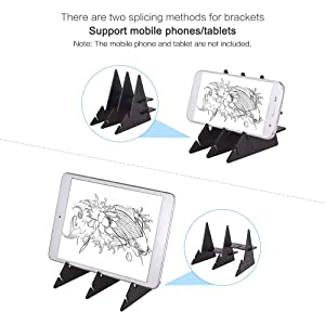Aibecy Portable Optical Tracing Board Copy Pad Panel Crafts Anime Painting Art Easy Drawing Sketching Tool Zero-Based Mould Toy Gift for Students Adults Artists Beginners