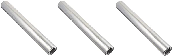St. Louis Crafts 36 Gauge Aluminum Metal Foil Roll, 12 Inches x 10 Feet (?hr?? P?ck) (Tamaño: ?hr?? P?ck)