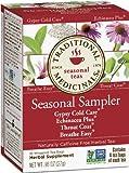 Traditional Medicinals Seasonal Herb Tea Sampler 16 Count Box